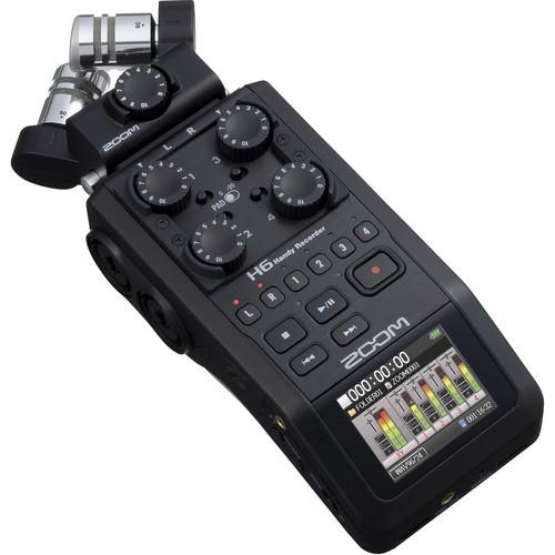 Zoom H6 Portable Handy Recorder 2